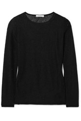 Max Mara Strillo Crystal Embellished Knitted Sweater Black