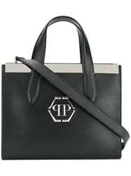 Philipp Plein Erika Tote Calf Leather Black