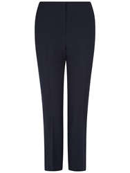 Jaeger Slim Leg Cropped Trousers Black