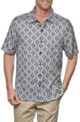 Nat Nast Men's Paseo Print Camp Shirt