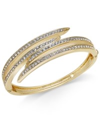 Charter Club Gold Tone Crystal Multi Row Bracelet Only At Macy's