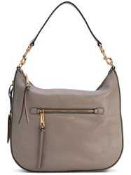 Marc Jacobs 'Recruit' Hobo Bag Women Leather One Size Grey