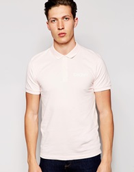 Dkny Short Sleeve Chest Logo Polo Pink
