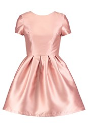 Chi Chi London Roca Cocktail Dress Party Dress Rose Gold
