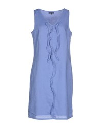 Tommy Hilfiger Dresses Short Dresses Women Pastel Blue