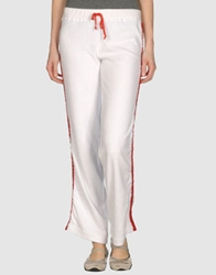 Monica Bianco Sweat Pants White