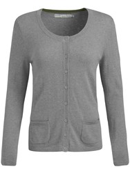 Seasalt Grey Seal Cardigan Pewter