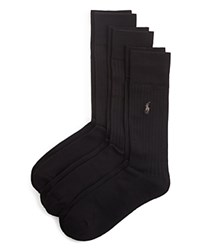 Ralph Lauren Ribbed Socks Pack Of 3