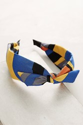 Anthropologie Geo Headband Black