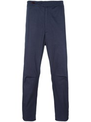 Oamc Cropped Trousers Blue