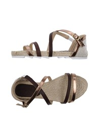 Macarena Footwear Sandals Copper