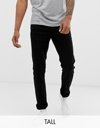 French Connection Tall Slim Fit Black Jeans