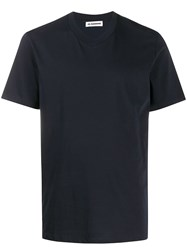Jil Sander Plain V Neck T Shirt 60