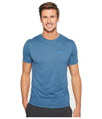 Marmot Conveyor S S Tee Arctic Navy Heather Men's T Shirt Blue