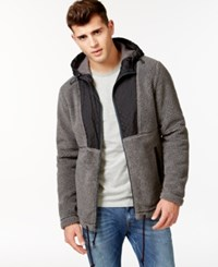 American Rag Fuzzy Feeling Jacket Gunmetal Grey