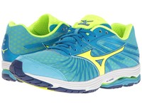 Mizuno Wave Sayonara 4 Norse Blue Safety Yellow Mazarine Blue Women's Running Shoes