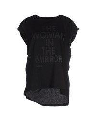 Meltin Pot Topwear T Shirts Women Black