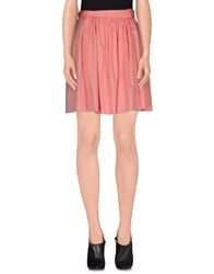 Fairly Skirts Knee Length Skirts Women Coral