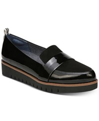 Dr. Scholl's Imagined Platform Loafers Black Patent
