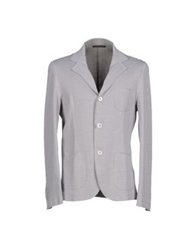 Royal Hem Blazers Light Grey