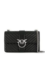 Pinko Mix Love Quilted Bag Black