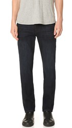 7 For All Mankind Slimmy Slimy Straight Luxe Performance Jeans Prowl