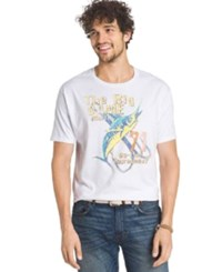 G.H. Bass And Co. Just Bassin' T Shirt Bright White