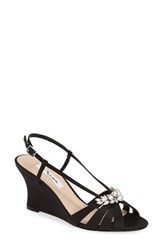 Women's Nina 'Voleta' Wedge Sandal Black