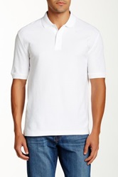 Faconnable Solid Polo White