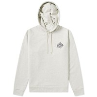A.P.C. Aston Small Logo Hoody Grey
