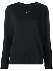 Nike Black Logo Sweater