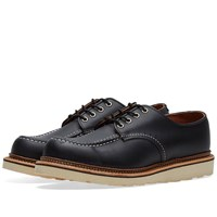 Red Wing Shoes 8106 Heritage Work Classic Oxford Black