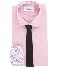 Ted Baker Crete Endurance Sterling Shirt Pink Men's Clothing