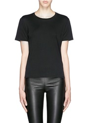 The Row 'Wesler' Back Seam Cotton T Shirt