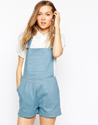 Sugarhill Boutique Delilah Dungarees Blue