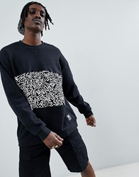Element X Keith Haring Sweat In Black