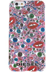 Diesel Eye Print Iphone 6 Case Multicolour