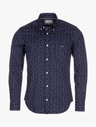 Eden Park Bow Shirt Blue