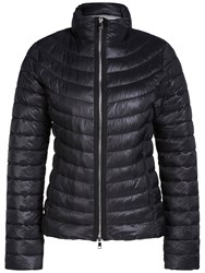 Oui Quilted Faux Down Coat Black
