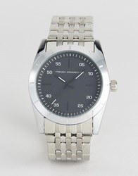 French Connection Watch With Stainless Steel Bracelet Silver