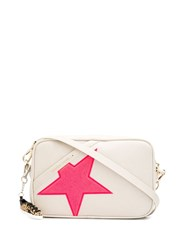 Golden Goose Embossed Star Cross Body Bag 60