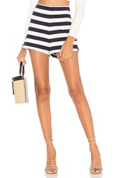 Mds Stripes Lucy Short White
