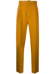 Cmmn Swdn Ranger Trousers Men Wool 50 Yellow Orange