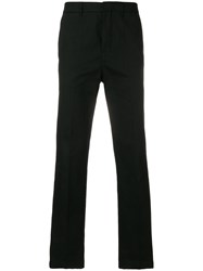 Golden Goose Deluxe Brand Side Stripe Straight Leg Trousers Black