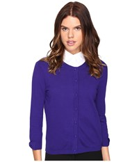Kate Spade Somerset Cardigan Nightlife Blue Women's Sweater