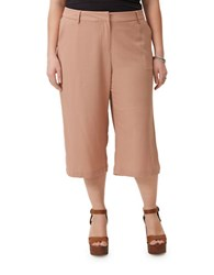 Junarose Cropped Culotte Pants Cafe