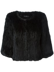 Yves Salomon Short Rabbit Fur Jacket 60