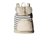 Toms Riviera Stripe Mix Backpack Dark Blue Backpack Bags