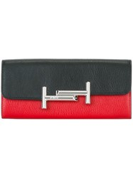 Tod's Bicolour Wallet Black