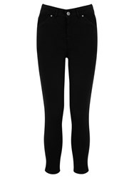 Oasis High Waisted Grace Capri Jeans Black